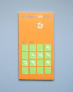 Munich 1972 Olympics Regulations Cycling - Otl Aicher & Rolf Müller