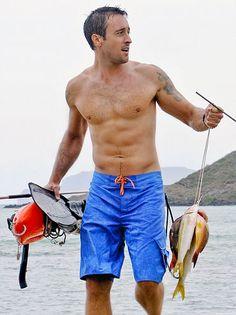told ya he looked good on the beach.