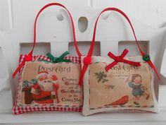 Mini Vintage style Christmas decorations