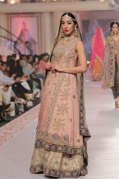 2015 Telenor bridal couture week Sarah Gandapur Formal Dresses
