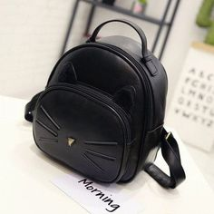 Cute Cat Backpack. Casual BagsFashion ... 2ec97b06f7a50