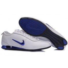 Bedst Nike Shox R3 Hvid Blå Herre Skobutik  Købe Nike shox R3 Skobutik   Nike