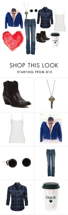 2 X 17 Dead Uncles and Vegetables - Lorelai 5 - Gilmore Girls by faedissey on Polyvore featuring Earl Jean, BKE, maurices, Volatile, The Giving Keys and gilmoregirls