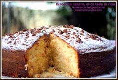 Las recetas de Tere: Bizcocho casero, el de toda la vida...