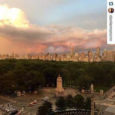 I  NYC my second home!  #NewYork #ColumbusCircle #myplaceintheworld repost from @donlemoncnn