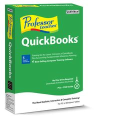 Learn Intuit QuickBooks 2015! It's so easy! This training software will guide you every step of the way!