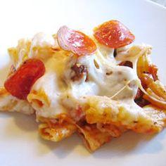 Italian Rigatoni Casserole Recipe