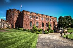 Shrewsbury castle dates back to 1074, it was founded by Roger de Montgomery