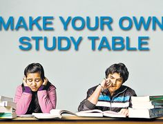 Make your own study table Exam Wishes, Make Your Own, Make It Yourself, Polaroid Film, Study, Table, Studio, Tables, Studying