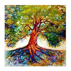 Tree Of Life Painting, Tree Of Life Artwork, Frida Art, Tree Illustration, Art Portfolio, Tree Art, Painting Inspiration, Painting & Drawing, Painting Styles