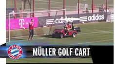 Funny astro #snake Thomas Müller drives a golf cart https://www.youtube.com/watch?v=aofefWoEre8 I think he is much better as soccer player than as chauffeur/driver lol, and this video is also a proof lol ;-D