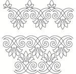 soutache embroidery patterns - Recherche Google