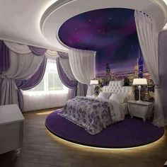 Purple suite