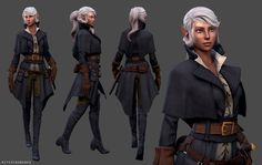 medieval rogue outfit - Google Search