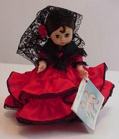 Madame Alexander Spanish doll