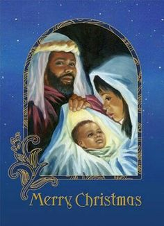Wide selection Christmas cards with African American images and themes Merry Christmas Gif, Black Christmas Trees, Christmas Nativity, Christmas Pictures, Christmas Art, Christmas Greetings, Vintage Christmas, Christmas Quotes, Soulful Christmas