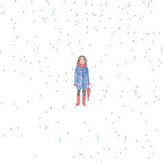 Des Gifs humoristiques sur les petits désagréments de la vie et autres moments de solitude réalisés par l'illustratrice Lisette Berndt