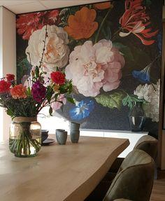 Flower Mural, Jazz, Beautiful Nature Wallpaper, Flower Wallpaper, Living Room Interior, House Colors, Most Beautiful Pictures, Wall Murals, Interior Decorating