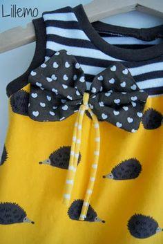 lillemo igel Kleidchen hedgehog