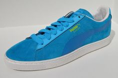 new arrivals 12839 9a0b1 Puma Classic Suede Trainers Casual Blue Amazon.co.uk Shoes  Bags