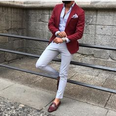 Quality Burgundy Mens Suits with Pants Groom Wedding Tuxedos Groomsmen Blazers Jacket Slim Fit Terno Masculino Costume Homme with free worldwide shipping on AliExpress Mobile Blazer Outfits Men, Mens Fashion Blazer, Suit Fashion, Red Blazer Outfit, Men Blazer, Slim Fit Tuxedo, Tuxedo For Men, Tuxedo Suit, Elegantes Business Outfit