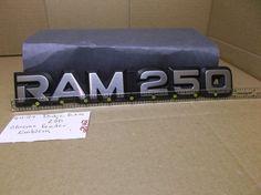 Dodge Ram 250 Truck-front fender door emblem badge symbol nameplate oem 2042 #Dodgeoem