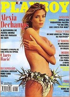 Alexia Dechamps Playboy Brazil Marcio 1995