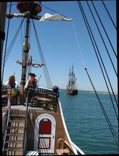 This weekend Nov. 9 - 11, St. Augustine: 2012 Annual Pirate Gathering - sponsored by the Ancient City Privateers and Krew of the Black Heart, There will also be a fundraiser booth set up at Francis Field to receive donations from the Bounty - members of the Bounty's Pirates of the Treasure Coast organization will be on hand - black arm bands are being worn by pirates in memory of Capt. Walbridge and crew member Claudene Christian http://lnkd.in/eGqJiS