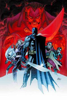 Batman family by Andy Kubert