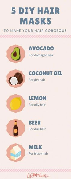 List of easy recipes for restorative DIY hair masks! Most of these are household ingredients! #ElegantShortHairstyles #EasyPromHairstyles Diy Hair Care, Hair Care Tips, Natural Beauty Tips, Natural Hair Styles, Hair Milk, Skin Care Routine For 20s, Do It Yourself Fashion, Healthy Hair Tips, Dull Hair