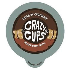 Crazy Cups Decaf Chocolate Coconut Dream Flavored Coffee Single Serve Cups for Keurig K Cups Brewer, 22 Count -- Hurry! Check out this great item : K Cups Chocolate Cheesecake, Chocolate Flavors, Vegan Chocolate, Coconut Dream, Italian Chocolate, Decaf Coffee, Iced Coffee, Cookie Flavors, Coffee Store