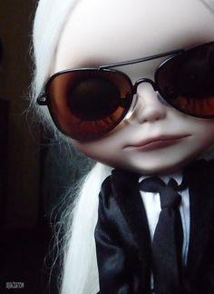 OOAK Custom Blythe Art Doll 36 by Iriscustom