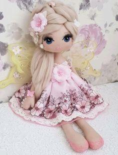 Red Nursery Doll Textile Soft Doll Handmade Baby Room Doll Love Winter Doll Poupée Cloth Rag Doll Christmas Fabric Tilda Doll by Olga K Doll Clothes Patterns, Doll Patterns, Felt Dolls, Doll Toys, Fabric Toys, Sewing Dolls, Fairy Dolls, Doll Crafts, Custom Dolls