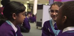 Oral communication skills are often overlooked in school in favor of math, reading and writing. But this London school has put it front and center with amazing results.