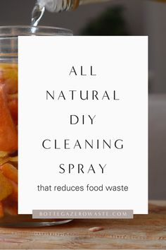 Sustainable Gifts, Sustainable Living, Cleaning Spray, Orange Peel, Food Waste, Natural Cleaning Products, Zero Waste, Sustainability, Easy Diy