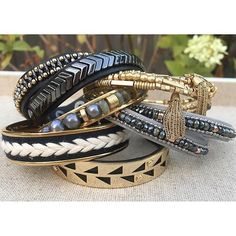 Classic-cool #armparty essentials #stelladotstyle