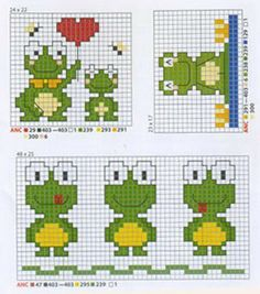Frogs pattern