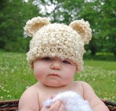 12 Totally Cool Baby Hats: Crochet Baby Hats Take on Animal Theme