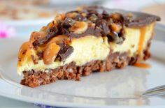 Schokolade-Erdnuss-Cheesecake