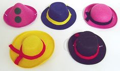 schöne hochwertige Miniaturhüte für Partys, sehr stabil mit Filzoptik (Polyester, keine Pappe!) Stabil, Partys, Shops, Fireworks, Cardboard Paper, Nice Asses, Tents, Retail, Retail Stores