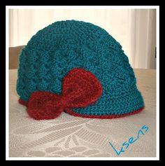Brimmed Hat - free crochet pattern**Cute!!**