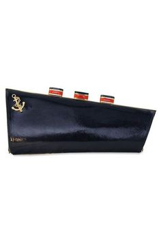 kate spade :: all aboard ship clutch