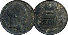 Belgium 5 Five Franc / Frank Coins Belgique Belgian