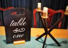 Rustic wedding table name chalkboard, standing board for table number, festive table centrepiece, cu Chalkboard Table, Name Boards, Wedding Table Names, Christmas Events, Rustic Table, White Vinyl, Name Signs, Vinyl Lettering, Table Numbers