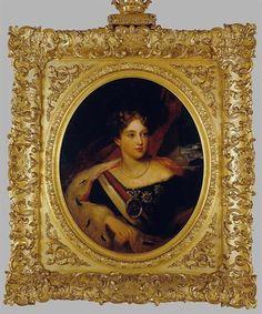 Retrato de D. Maria II Autor:Desconhecido Datação:XIX d.C.