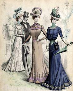 Victorian Fashion -