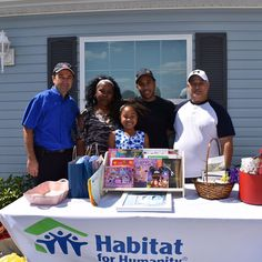 Habitat for Humanity of Collier County is part of a global nonprofit housing organization operated on Christian principles that seeks to put Gods love into action by building homes communities and hope. This Saturday we were part of the Legacy Lakes Home Dedication as the underwriters of all of the building materials and the offering of more than 400 volunteer hours by the members of the community as well as Agape Charities! We are so happy for this kind and hardworking family to live in…