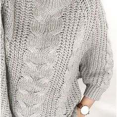 beautiful sweater; beautiful color