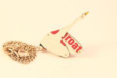 Swan Tin Necklace