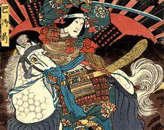 Resultado de imagem para samurai traditional japanese print